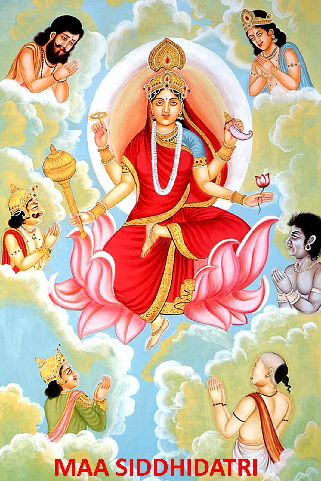 hindu_goddess_durga_devi_Mata_Siddhidatri_Ninth_Avatar_of_Maa_Durga_devi